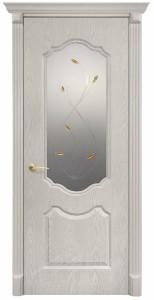 Мечта (Анастасия) Белый дуб с матовым стеклом