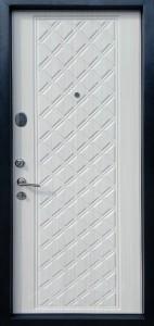 АФИНА  578 Серебро на черном/Беленый дуб