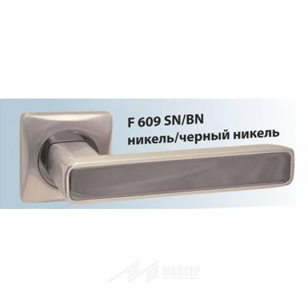 Ручка раздельная F 609 BN/SN Черный Никель/Матовый Никель
