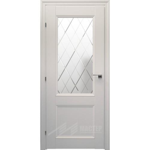 33.24 Белый Матовое стекло